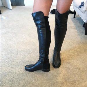 Stuart Weitzman 50/50 Over Knee Boots - Size 36